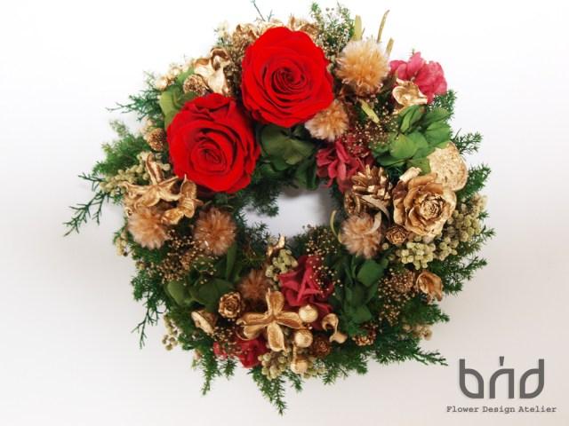 BUDクリスマスリース1