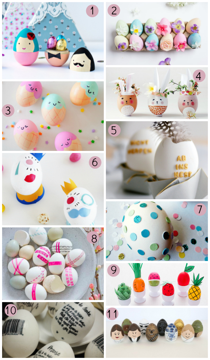 Decorados 11 Ideas Para Decorar Huevos De Pascua