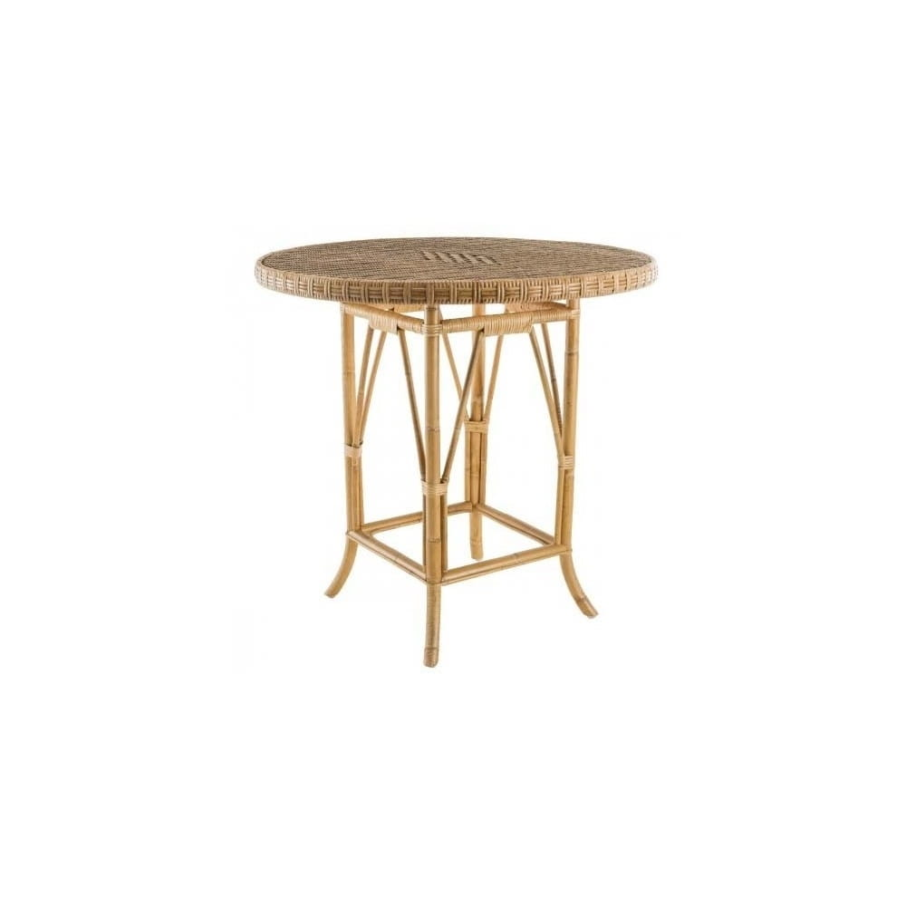 Table Ronde 80 Cm Table Ronde En Rotin Diamètre 80 Cm