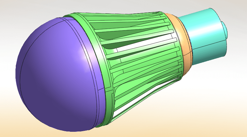 LED example CAD model