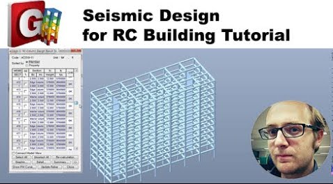 Reinforced concrete building Design Tutorial in midas GEN