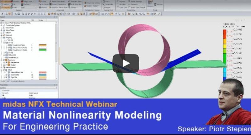 FEA Webinar: Material Non linearity Modelling
