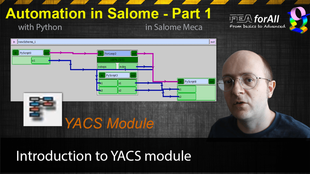 [Salome Automation 1] Introduction to YACS Module & Beginner Tutorial