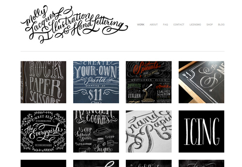 24 Creative Websites Running on SquareSpace - Part 2 - Fearlessflyer