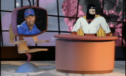 Chuck D and Space Ghost