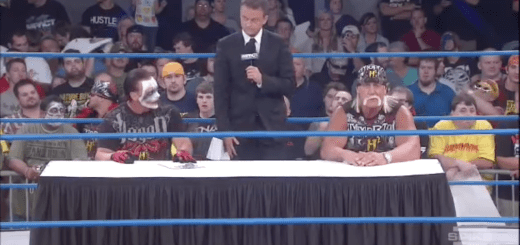 Sting/Hogan Contract Signing