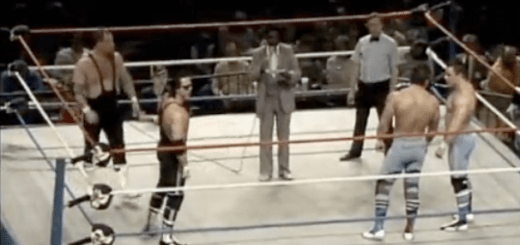 Picture 20 Hart Foundation vs. British Bulldogs (11/8/85)