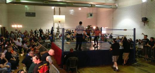 The AIW crowd at the sold-out Absolution VIII