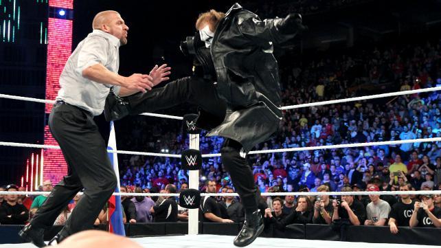 Sting Triple H Survivor Series 2014