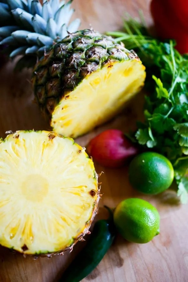 Fresh Pineapple Salsa with Seared Hawaiian Ono with Honey Soy Glaze ...an elegant healthy meal, perfect for a gathering or dinner party. Easy, delicious!