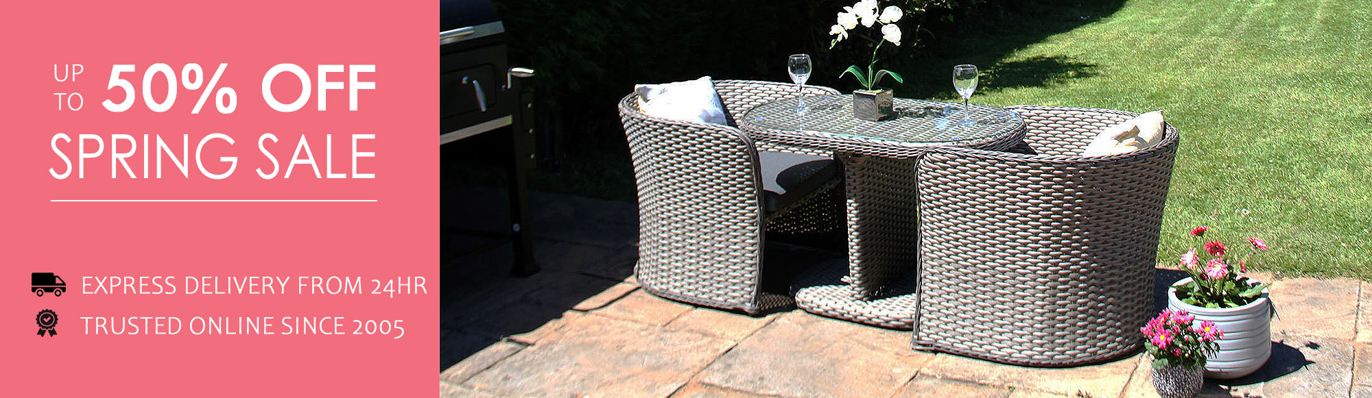 Outdoor Furniture Sale Clearance - Grey Garden Furniture Clearance