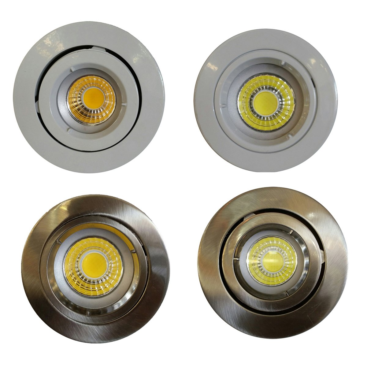 9 Watt Led 9 Watt Gu10 Recessed Cob Led Dimmable Downlight Kit Gu10