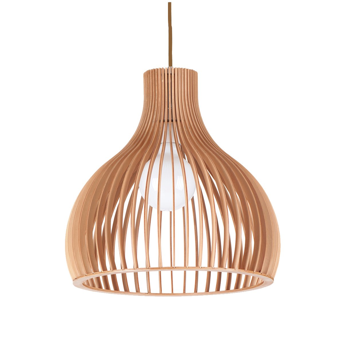 Wooden Light Pendants Ganto 1 Light 220mm Wooden Pendant Feature Lights