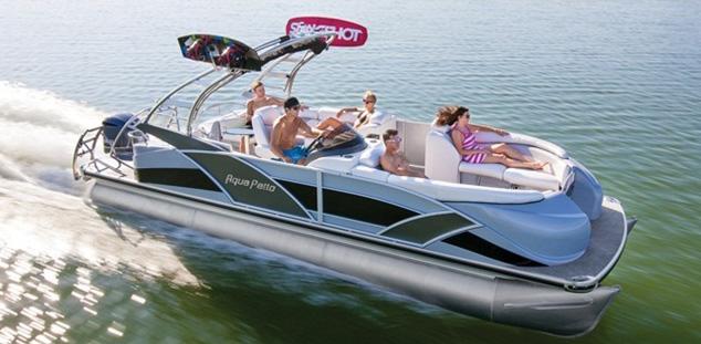 Aqua Patio Ap 250 Xp High Performance Pontoon Boatscom