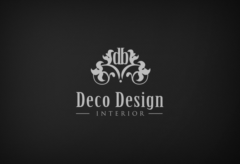custom interior design logo business logo design custom logo design