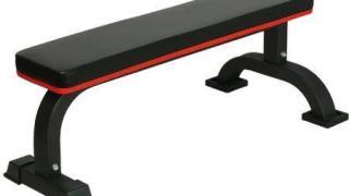 筋トレ用にリーディングエッジ フラットベンチを買った。量販店では見かけない頑丈な作りとシートの質感の良さに感動!