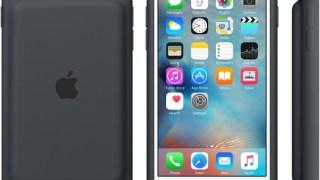 アップル純正のiPhone6s用バッテリーケースが絶望的にダサい