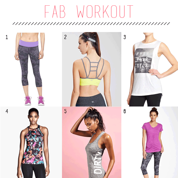 Where to Find Affordable, Fashionable Workout Gear | FedandFab.com