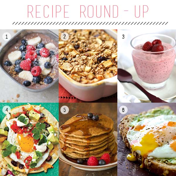 Healthy Breakfast Recipe Round-Up | Fed & Fab