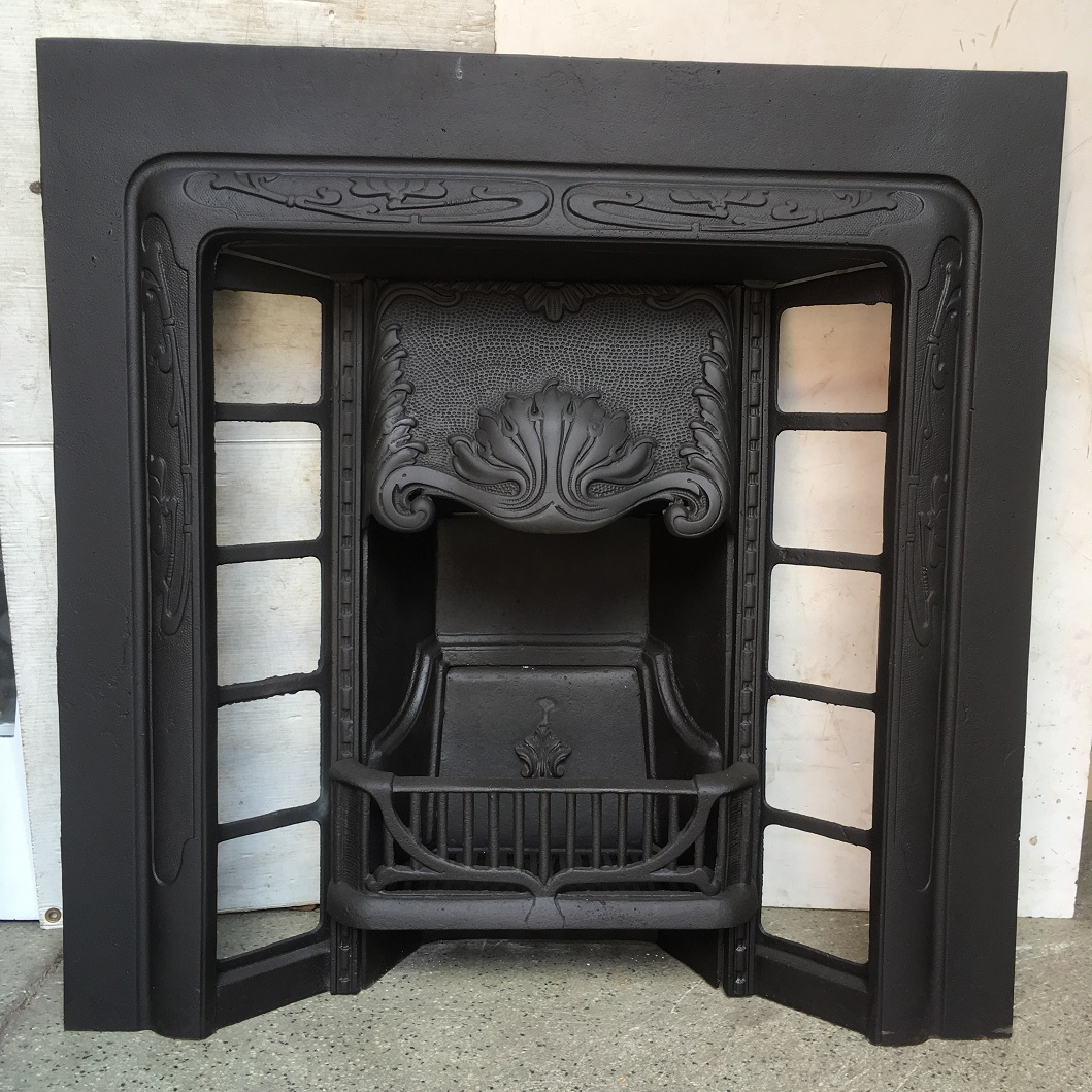 Convert Fireplace To Gas Burning Cast Iron Fireplace Inserts Federation Trading