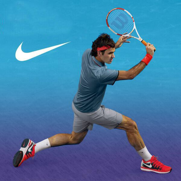 Roger Federer 2014 Australian Open Nike Outfit
