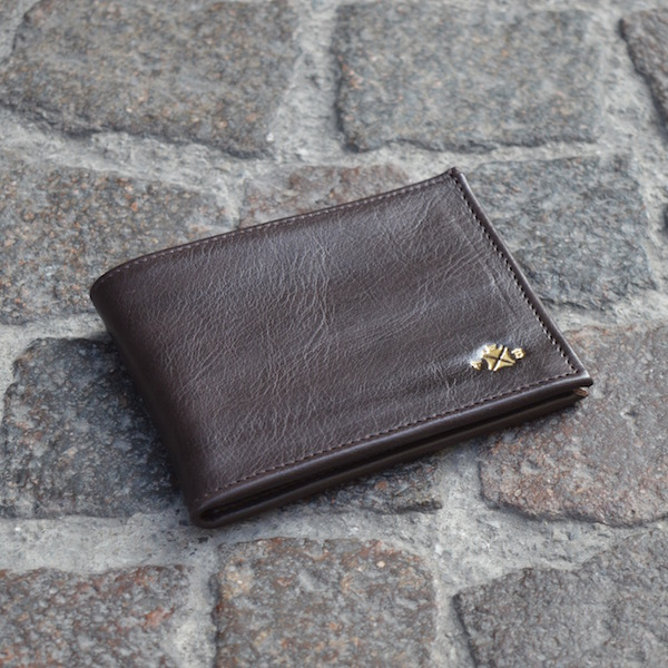 Roma Bifold Wallet Brown