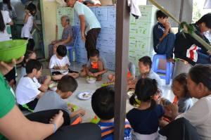 Matdags för barnen