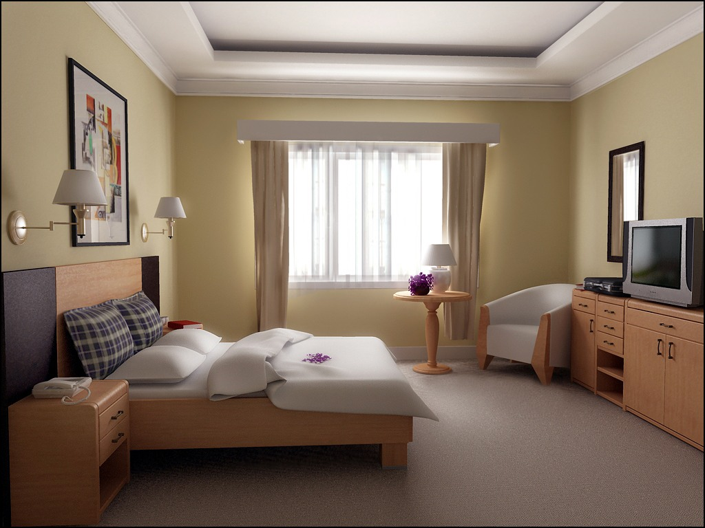 Kamar Nyaman Simple Interior Design Ideas For Small Bedroom