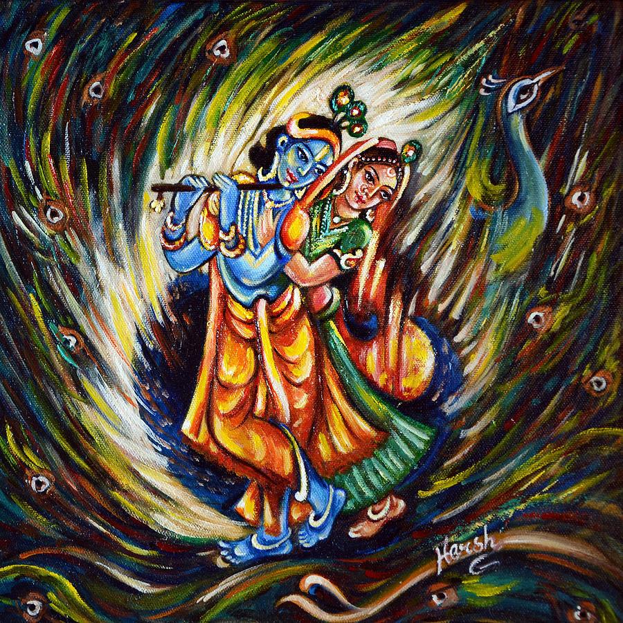Radhe Krishna Wallpaper With Quotes 20 Modern Art Paintings Of Radha Krishna