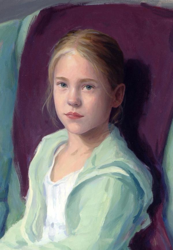Cute Nail Art Wallpaper 30 Oil Painting Portrait Of Girl