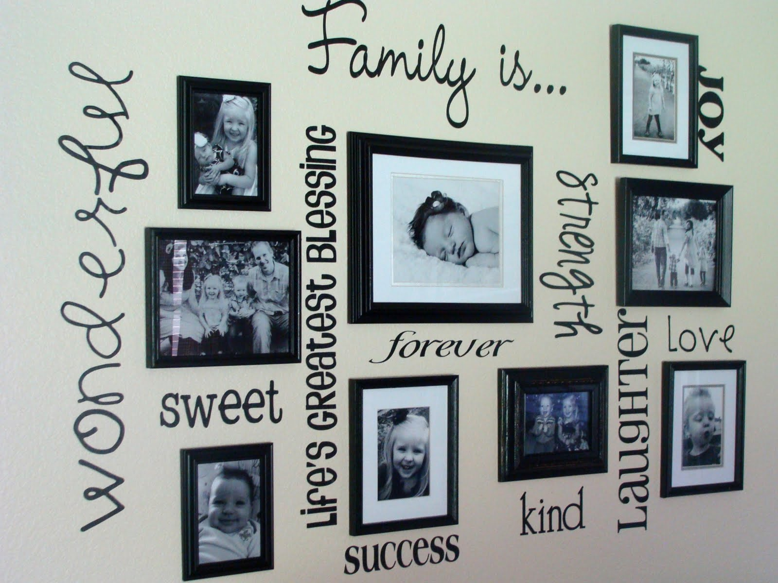 Hanging Wall Decor Ideas 30 Family Picture Frame Wall Ideas