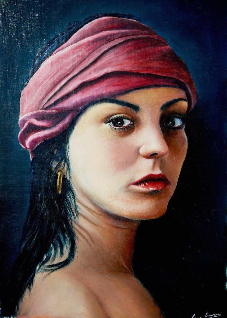 Free Animal Wallpaper Download 30 Oil Painting Portrait Of Girl
