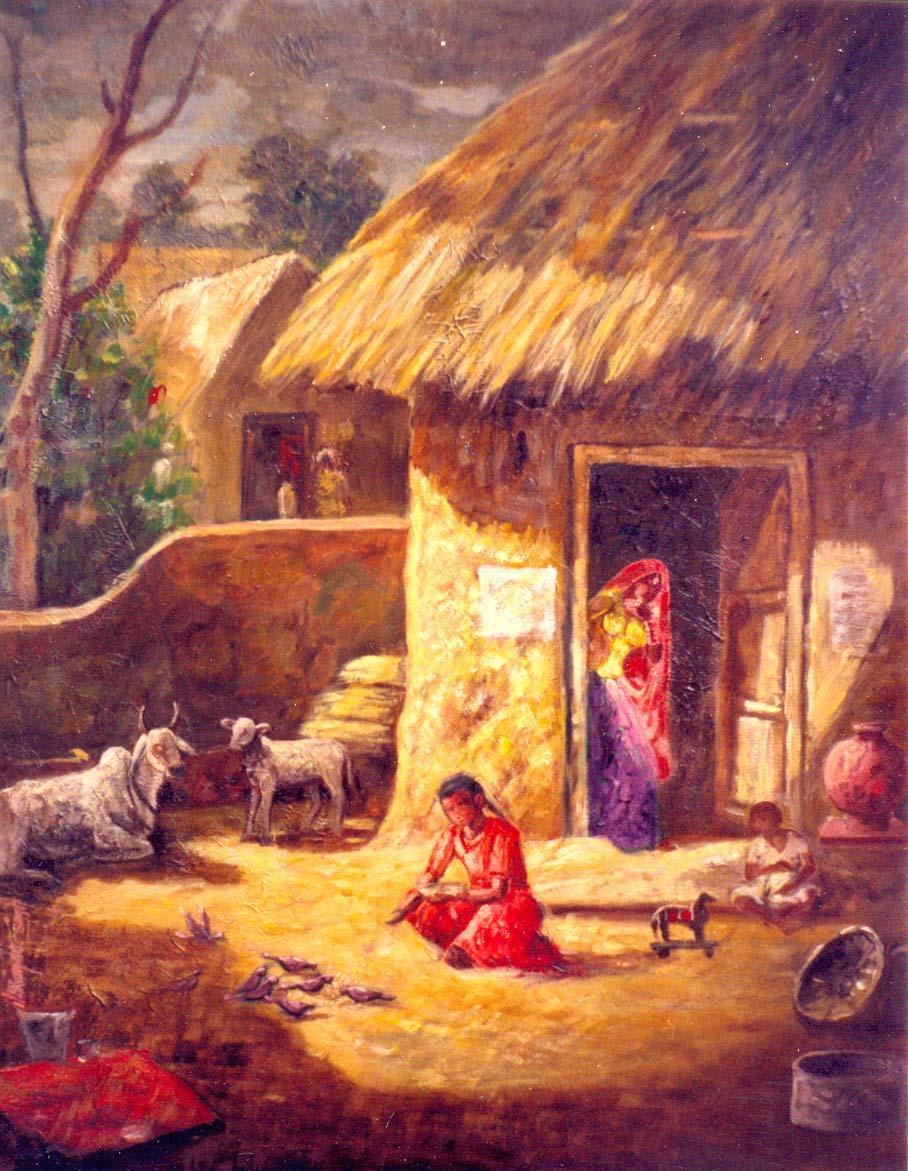 Deep House Girl Wallpaper Beautiful Indian Art Gallery Paintings