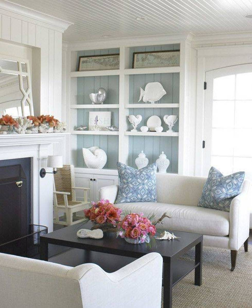 Wohnzimmer Style Beach Style Living Room Ideas