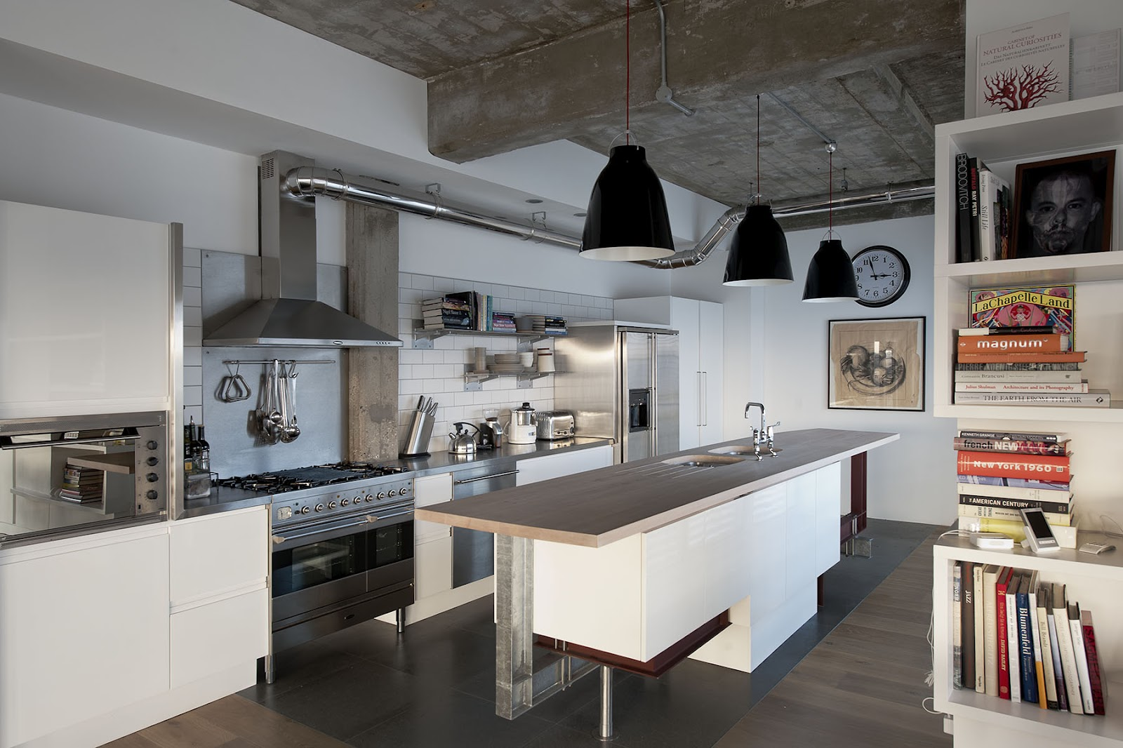 Industrial Rustic Kitchen Design 25 Cool Industrial Kitchen Designs