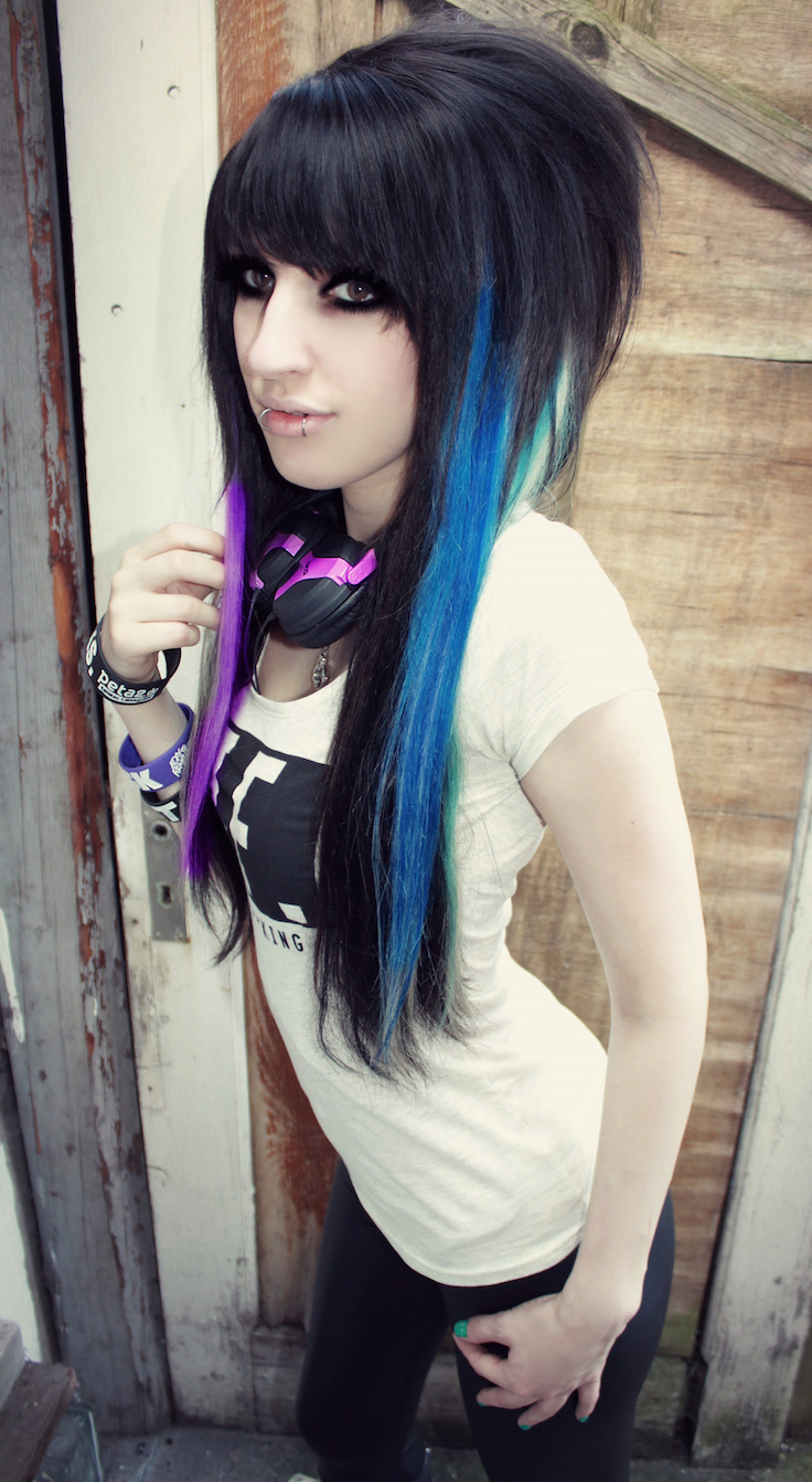 Black Hair Style 20 Emo Hairstyles For Girls Feed Inspiration