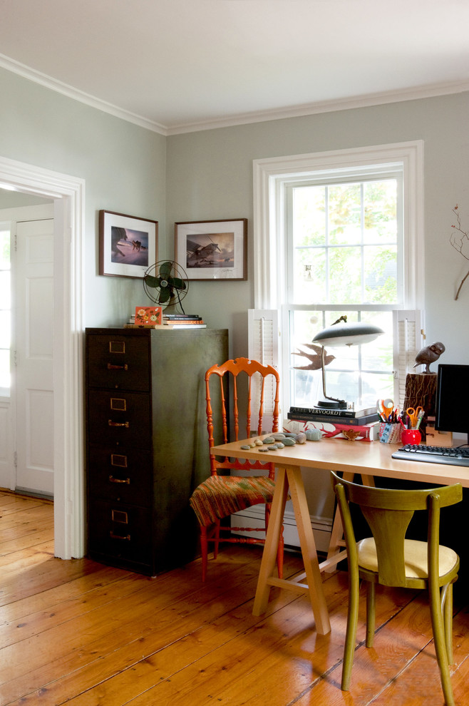 Interior Rustic 15 Beautiful Eclectic Home Office Designs - Feed Inspiration