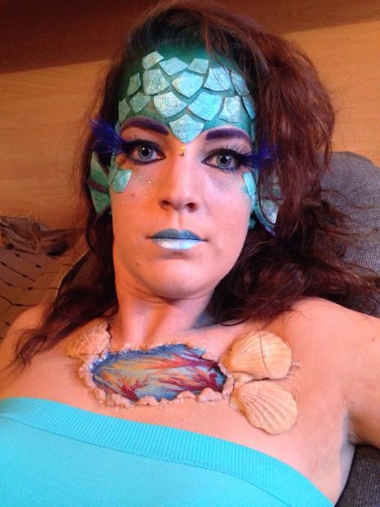 Tattoo Inspiration 20 Mermaid Halloween Makeup You'll Love - Feed Inspiration