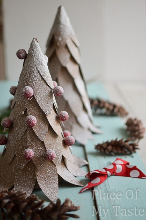 Medium Of Paper Christmas Decorations