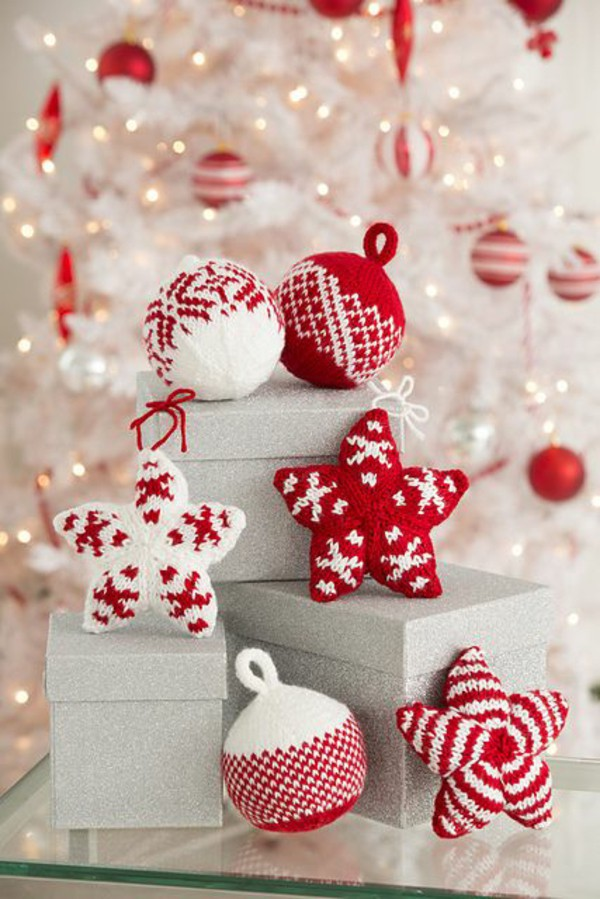 Gutschein Ideen Selber Machen 21 Cute Knitted Christmas Decorations Ideas - Feed Inspiration