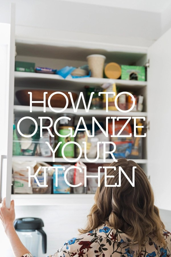 How to Organize Your Kitchen Cabinets and Pantry - Feed Me Phoebe