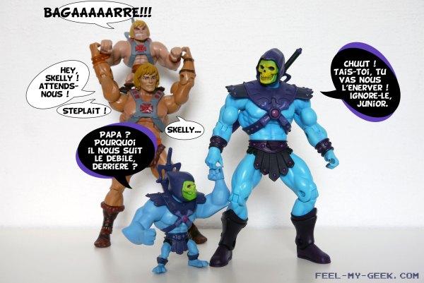 Une journée au parc avec Musclor, Skeletor, et les petits...