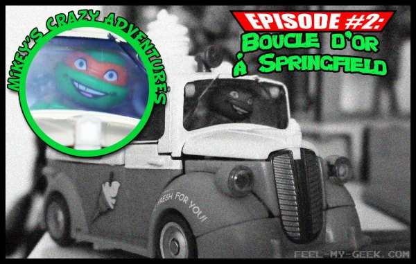 Mikey's crazy adventures - Épisode 2 : Boucles d'or à Springfield