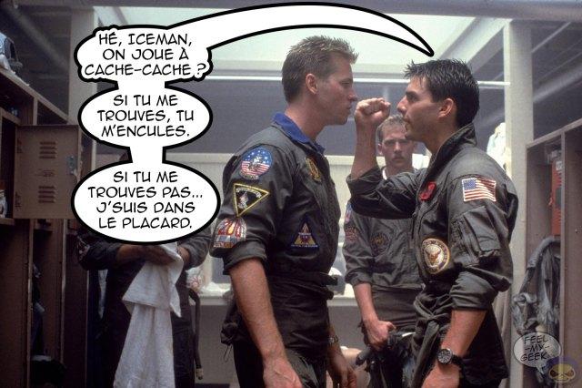 Top Gun - Val Kilmer & Tom Cruise