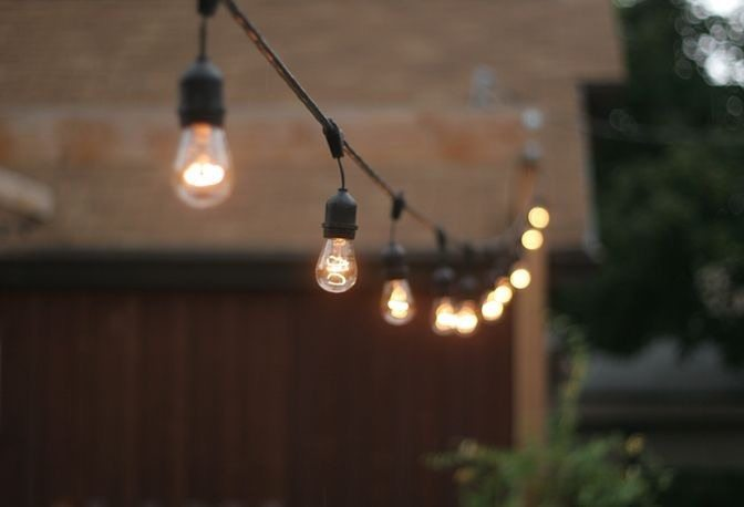 Focos Exteriores Led Vintage Style Festoon Lights Hire | Feel Good Events
