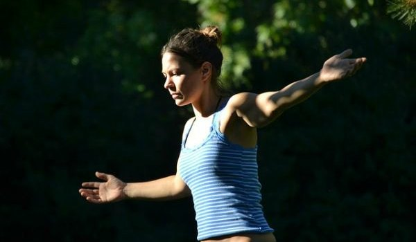 Girl Balancing by Daniel Silverman at Flickr.com, cc
