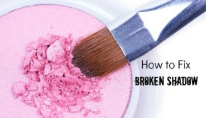 How to Fix Broken Eyeshadow