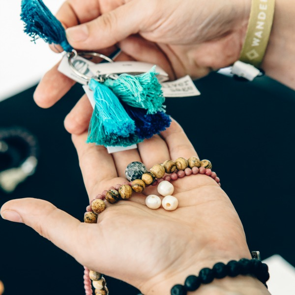 Make Your Own Mala at Wanderlust with Silver & Sage