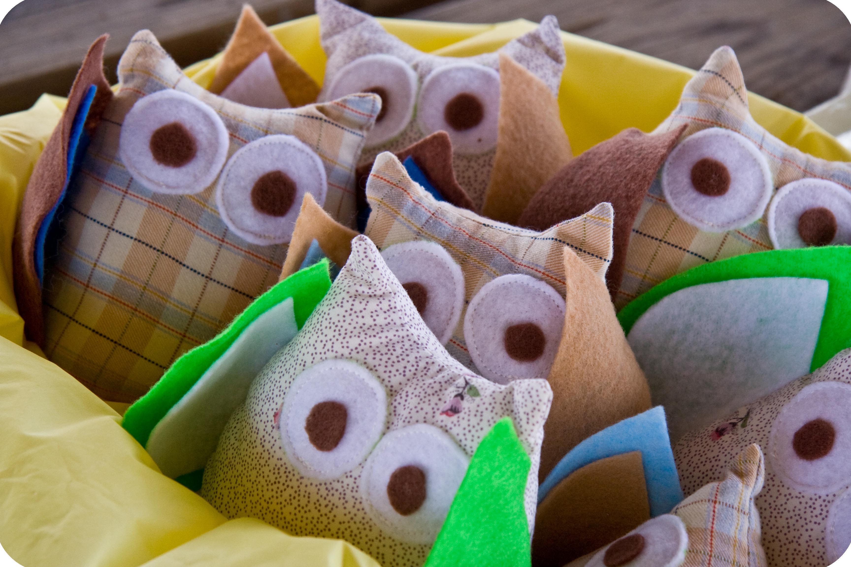 Stuff Owl Owl Party Tutorial Two Stuffed Owl Favors