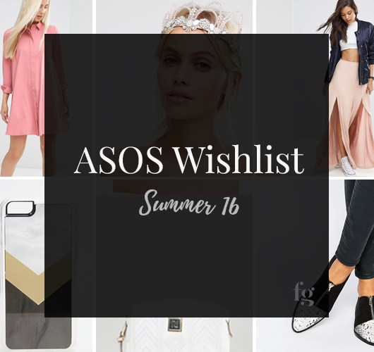 Asos Wishlist Summer 2016